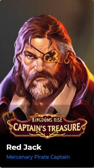 Kingdoms Rise - Captain's Treasure Red Jack
