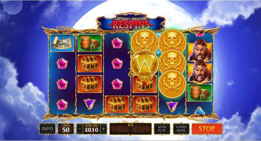 Ladbrokes en Playtech presenteren Kingdoms Rise: Captain's Treasure