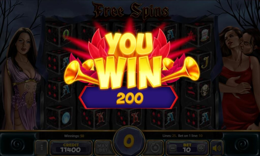 Supergame and Mancala Gaming present Blood Romance Dice - Blood Romance Dice free spins - you win