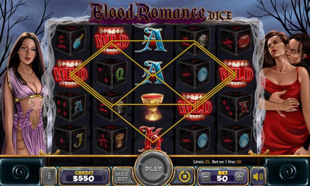 Supergame and Mancala Gaming present Blood Romance Dice - Blood Romance Dice - wilds