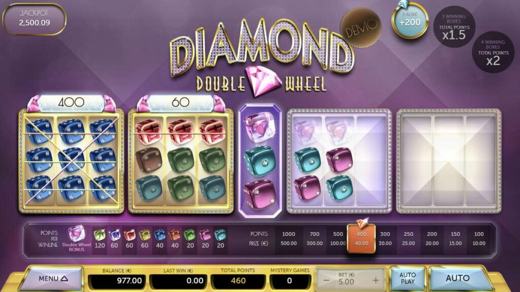 Blitz en Air Dice presenteren Diamond Double Wheel