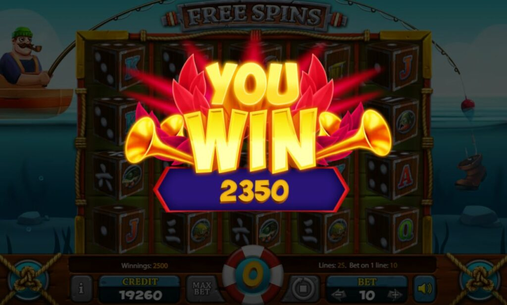 Supergame and Mancala Gaming present Mortal Blow Dice - Huge catch Dice free spins win