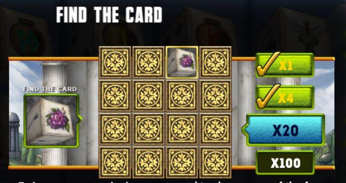 Supergame en Mancala Gaming presenteren Rage of Zeus Dice - Mancala Gaming - Rage of Zeus Find the Card