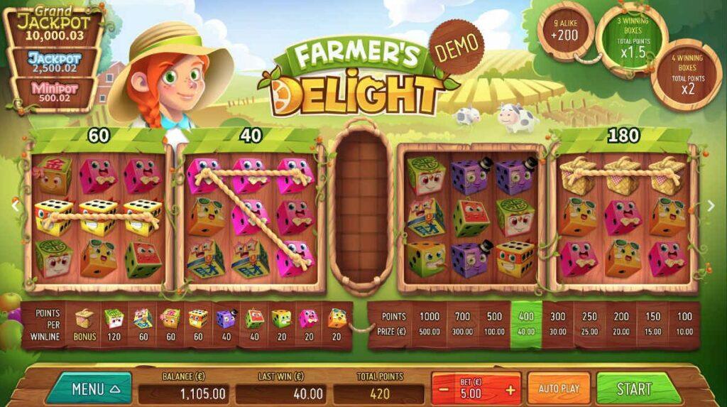 Blitz et Air Dice présentent Farmer's Delight