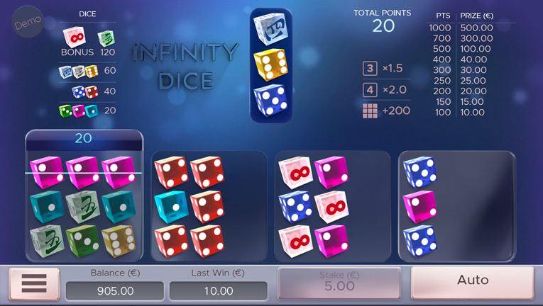 Infinity Dice - Air Dice