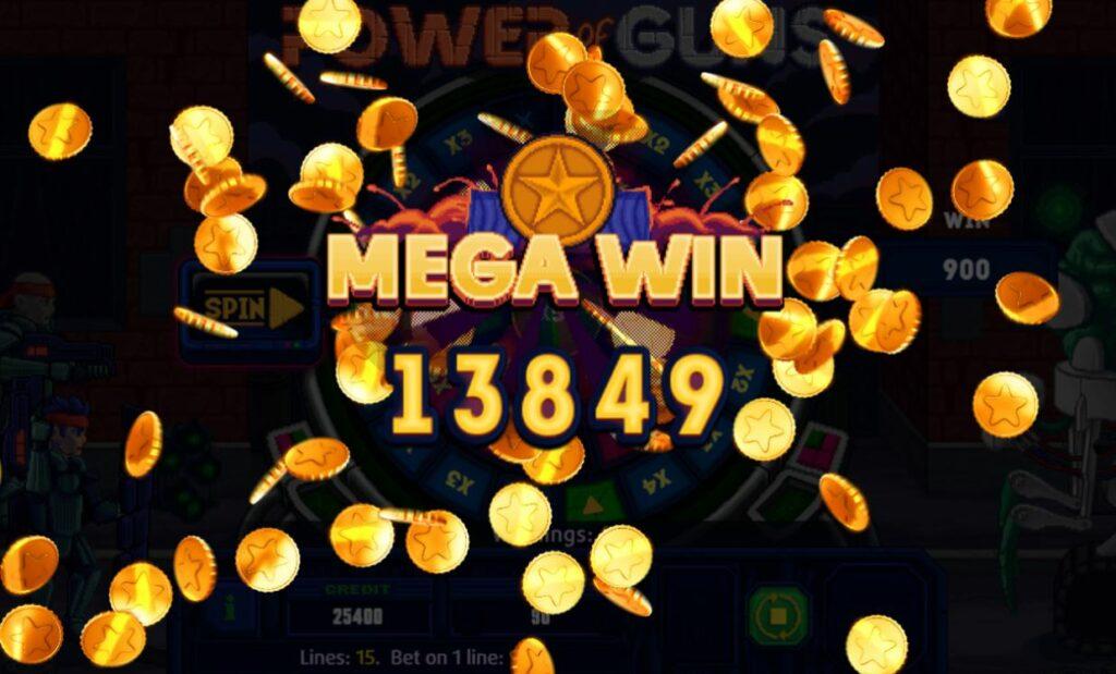 Supergame en Mancala Gaming presenteren Power of Guns Dice - Power of Guns Dice - Mega Win