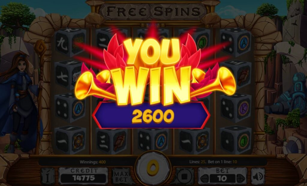 Supergame et Mancala Gaming présentent Sacred Ruins Dice - Sacred Ruins Dice - Big win