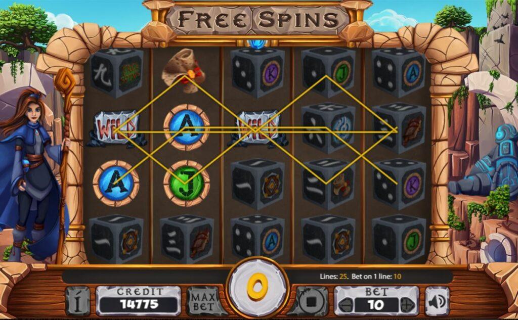 Supergame et Mancala Gaming présentent Sacred Ruins Dice - Sacred Ruins Dice - Wild