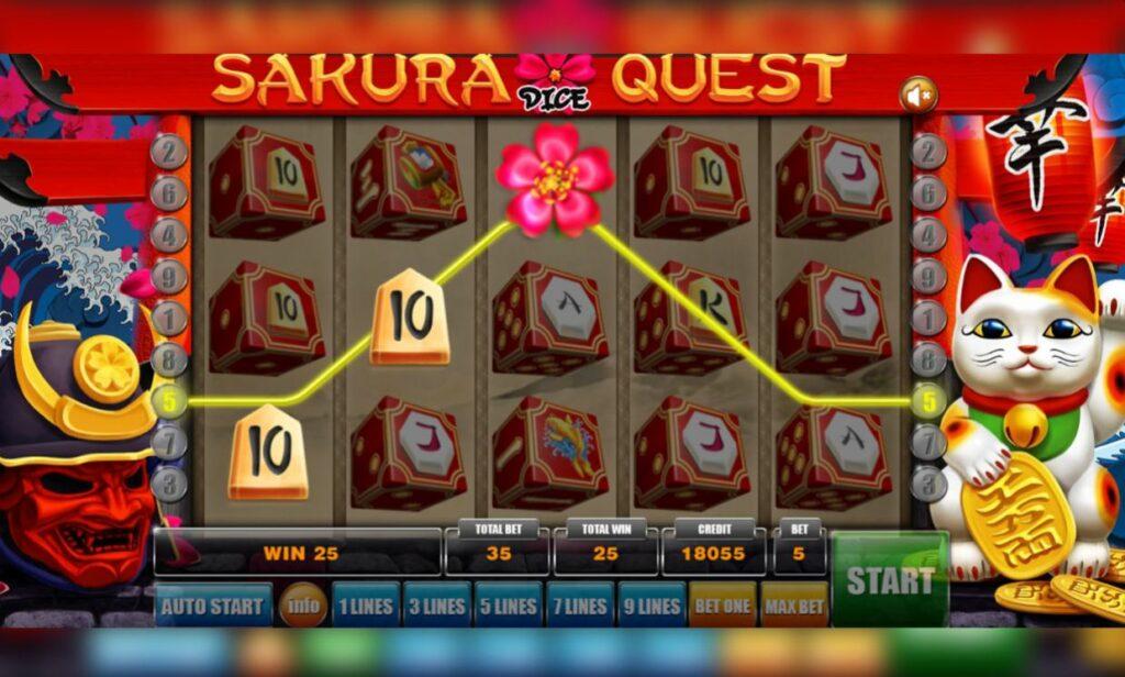 Supergame en Mancala Gaming presenteren Sakura Quest Dice - Sakura Quest Dice - Wild