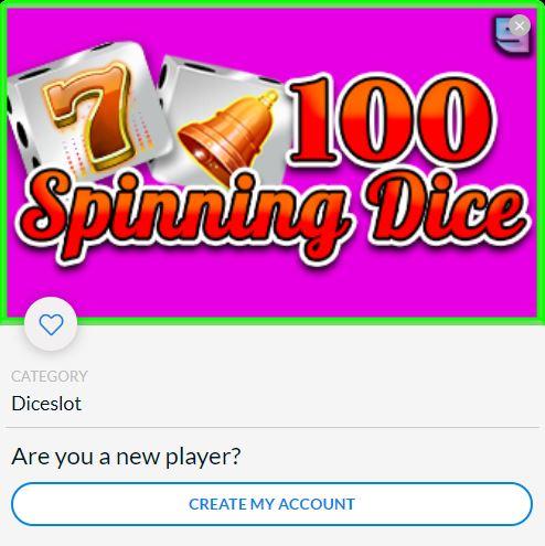 100 Spinning Dice EN