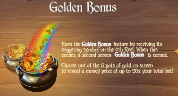 Betsoft et Blitz présentent Charms & Clovers Golden Bonus