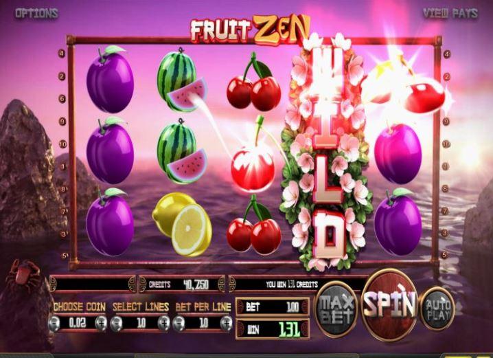 Betsoft et Blitz présentent Fruit Zen