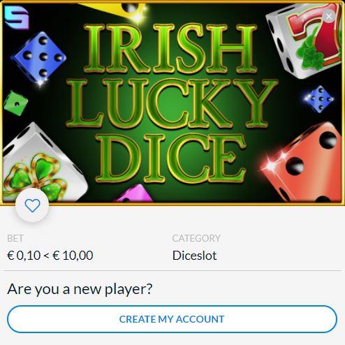 Spinomenal and Blitz present Irish Lucky Dice