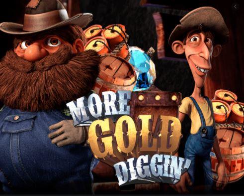 Betsoft et Blitz présentent More Gold Diggin'