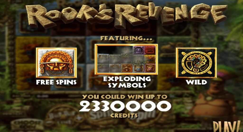 Betsoft en Blitz presenteren Rook's Revenge Features