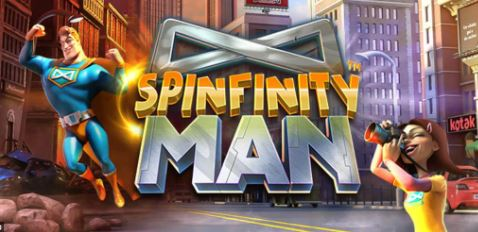 Betsoft en Blitz presenteren Spinfinity Man