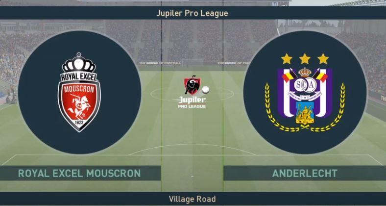 Excel Moeskroen VS RSC Anderlecht | 26-01-2021 | Matchday