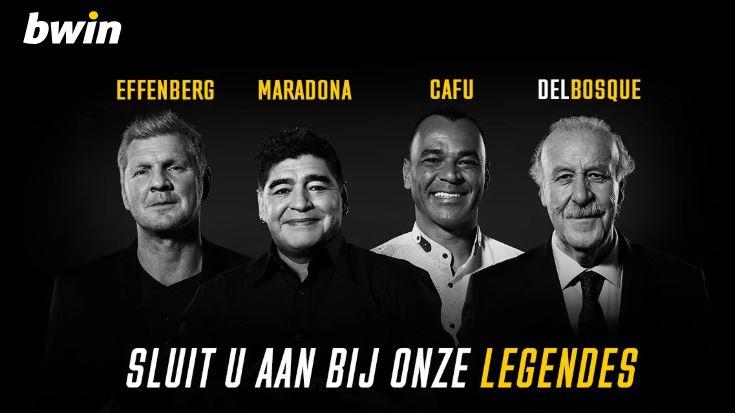 win legendes - Aanbiedingen van de Belgische online casino's - september 2020